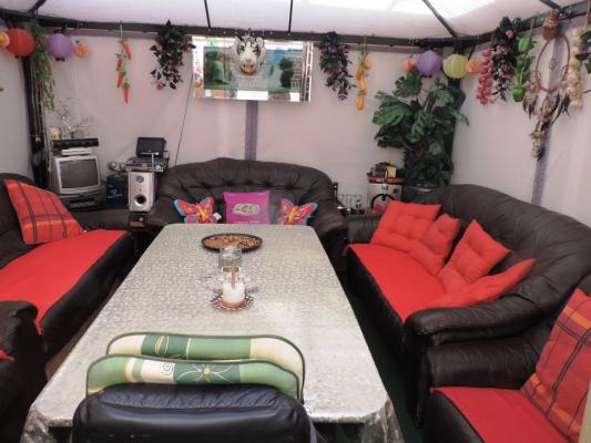 Gartenhaus -Partyraum
