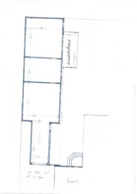 Grundriss Garage/ Werkstatt